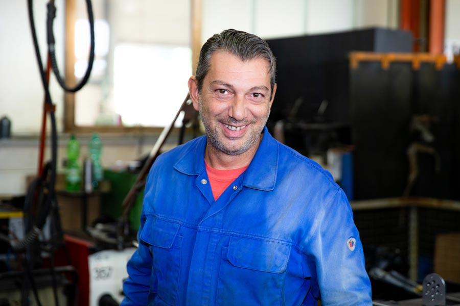Massimo Marante, Schweißer