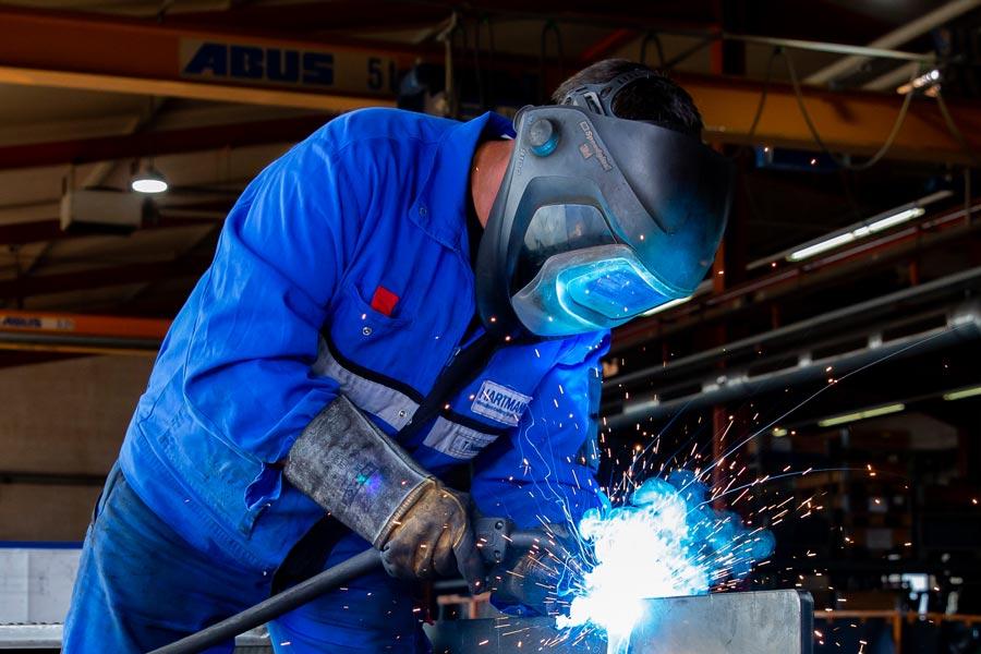 Stahlschlosser bei Metall Hartmann